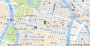 オフィス広島~バニヤンツリー地図